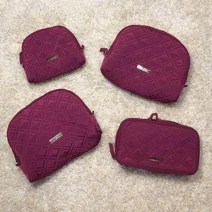 Vera Bradley Makeup Bag Set